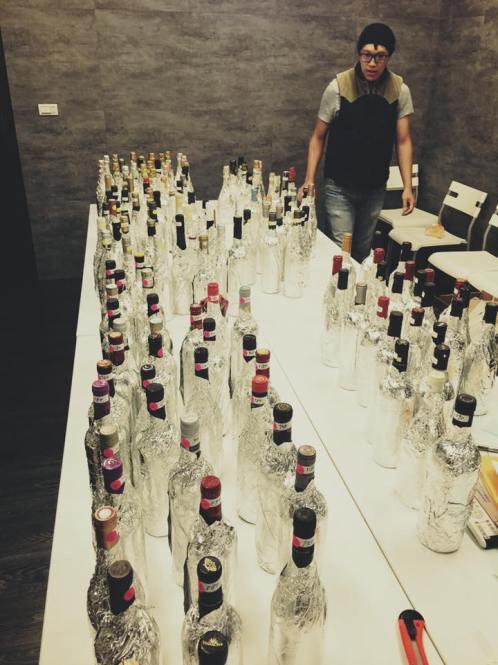 酒款盲飲評分活動